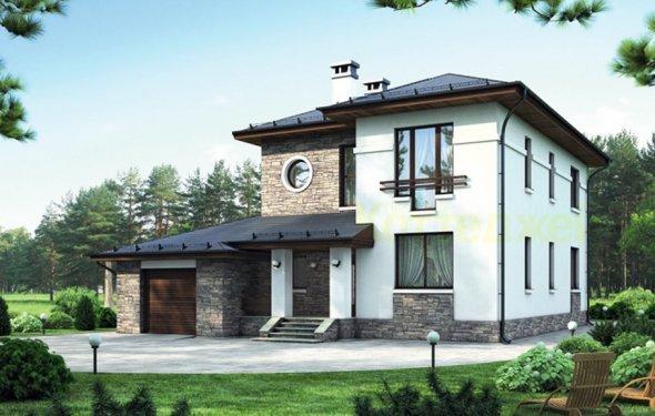 Каркасный дом 201,8 кв.м