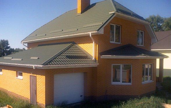 кирпичных домов под ключ в