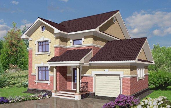 Проекты кирпичных домов с