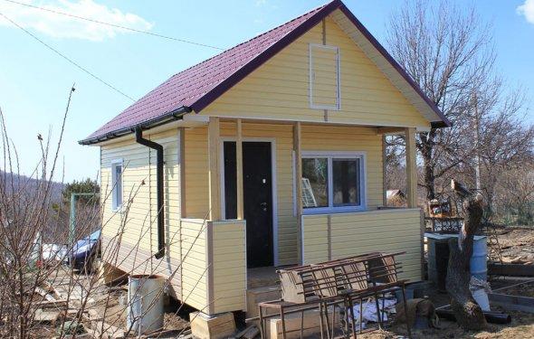 дачного дома 5х4 Хабаровск