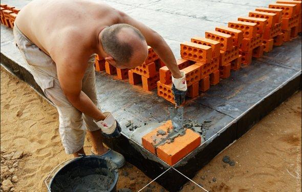 Опыт строительство дома из
